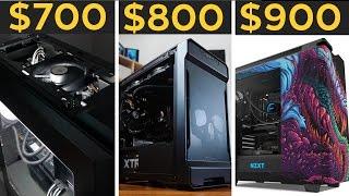 $700, $800, $900 GAMING PCS! - Budget PC Builds November 2016