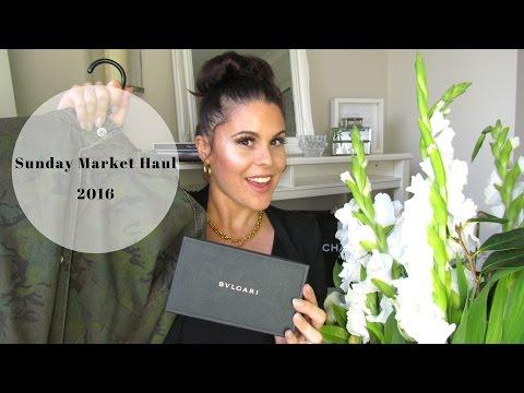 Sunday Market Haul 2016♡: Bvlgari Sunnies, Topman + Makeup
