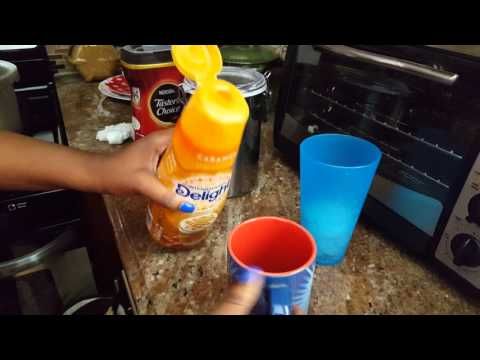 How to make Caramel Iced Coffee