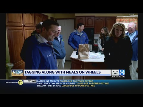 Tagging along with Meals on Wheels