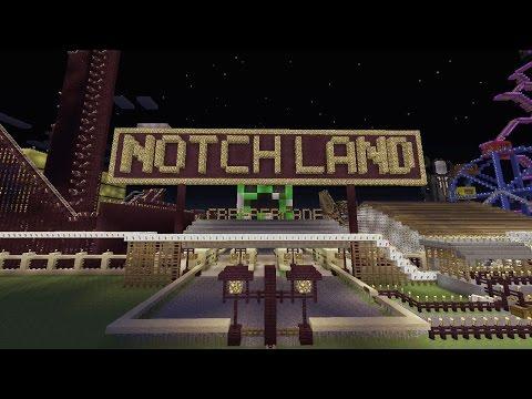 Official PS3/PS4 Minecraft Notchland Amusement Park Download
