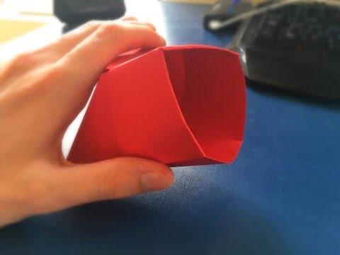 Easy Origami Bag Tutorial