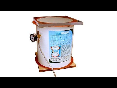 DIY Vacuum Chamber |  Low Cost Vacuum Chamber Kit