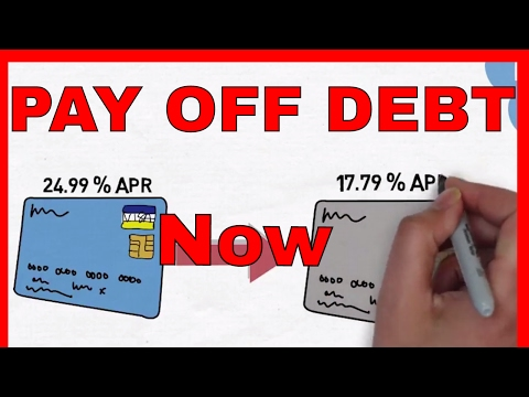 PAYING Off DEBT - 5 SIMPLE Ways To Pay Off Debt