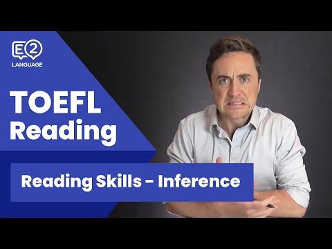 TOEFL Reading Skill 3: Inference with Jay!