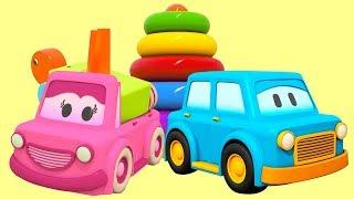 Download Развивающие мультики для детей. Умные Машинки. Пирамидка Черепашка Video