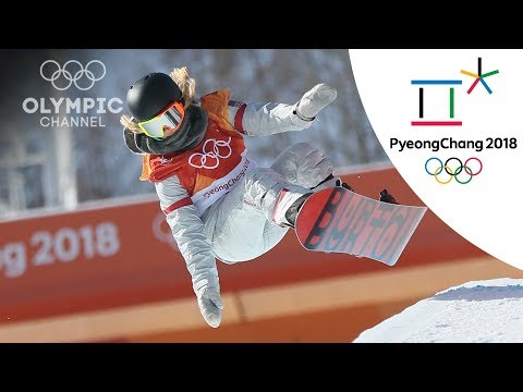 Chloe Kim hits Back-to-back 1080s to win Gold in Women's Halfpipe | Snowboard | PyeongChang