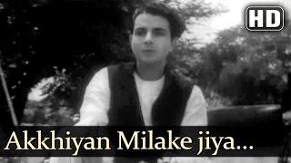 Akkhiyan Milake Jiya Bharmake (HD) - Rattan Songs - Karan Deewan - Manju - Swarnlata - Naushad