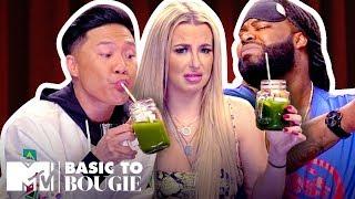 $1 Burritos 🌯 vs. $18 Kale Juice Feat. Tana Mongeau | Basic to Bougie Season 3 | MTV