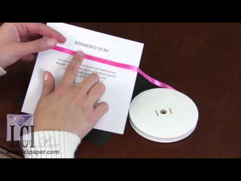 Creative Ways to Decorate an Invitation with Ribbon