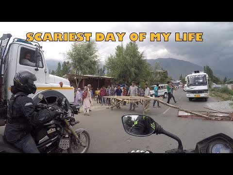 Ladakh [Ep.03] JAMMU-SRINAGAR HIGHWAY | Scary Issues