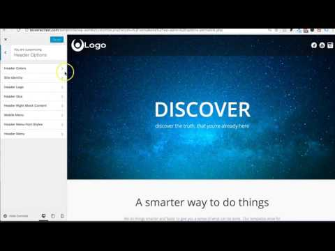 Setting up your Menu Navigation In Wordpress- Tesseract Theme