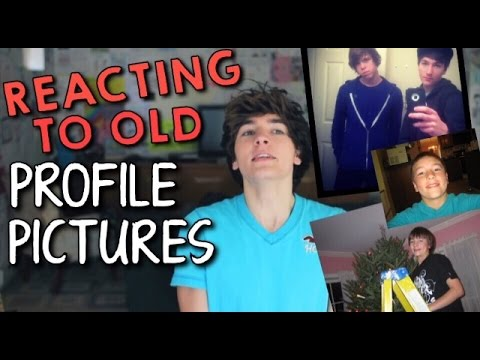 Reacting To Old Profile Pictures // Paul Zimmer