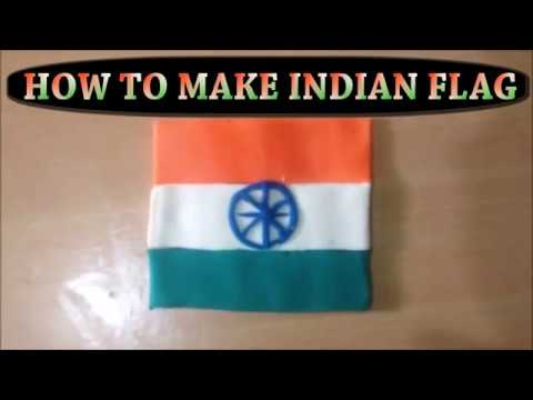 How to Make Indian Flag - Independence Day or Republic Day Craft