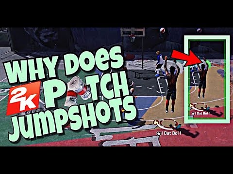 WHY DOES 2K PATCH JUMPSHOTS? NBA 2K18