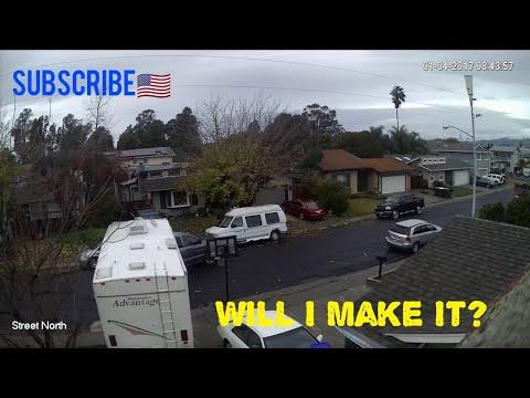 Backing Up My 5th Wheel Trailer - Finally Got It!
