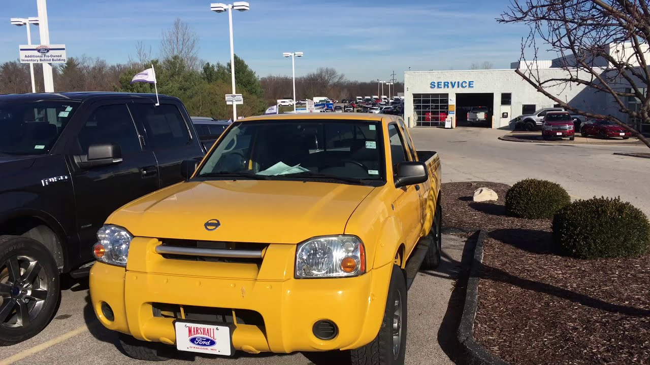 2002 Nissan Frontier SE   Used Nissan Pickup For Sale