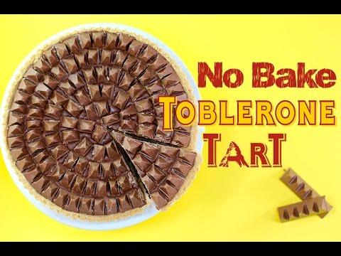 TOBLERONE Chocolate Pie Recipe | No Bake Dessert | My Cupcake Addiction