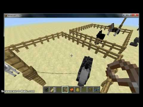 How To Tame A Horse On Minecraft 1.7.9 Step By Step