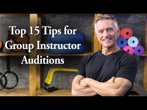 Top 15 Tips for Auditioning to be a Group Fitness Instructor