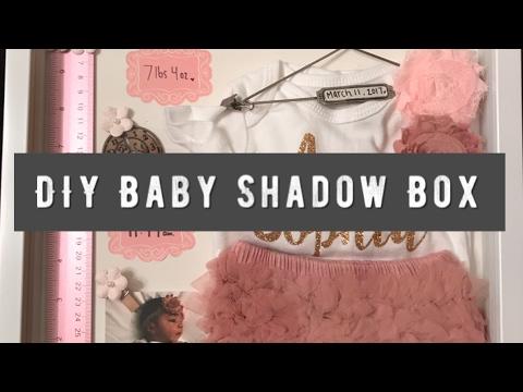 Shopping & Baby Shadow Box   VLOG