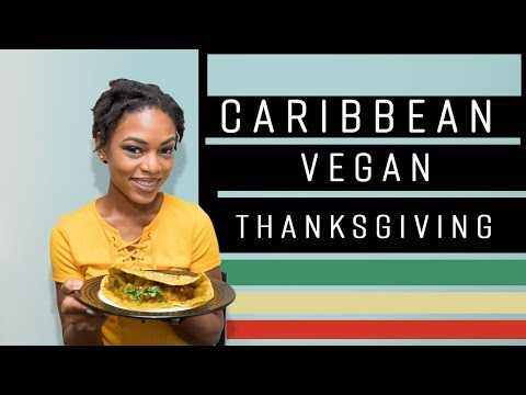 CARIBBEAN VEGAN THANKSGIVING SERIES - DHAL PURI ROTI WITH CURRIED POTATOES AND PUMPKIN FILLING