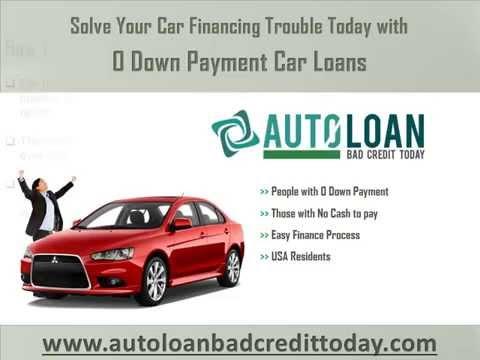 0 Down Payment Car Loans
