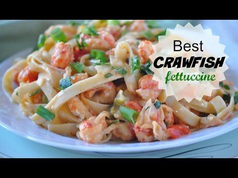 Best Louisiana Crawfish Fettuccine Recipe Is Easy Cajun Recipe