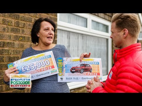 BMW and £25,000 Winners - BN23 7LQ in Eastbourne on 06/02/2018 - People's Postcode Lottery