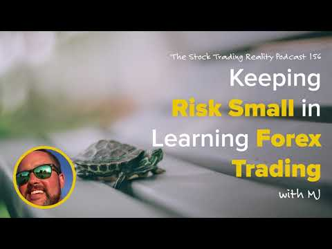 STR 156: Keeping Risk Small in Learning Forex Trading (audio only)