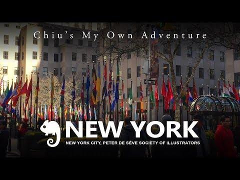 Vlog New York City: Peter de Sève - Society of Illustrators
