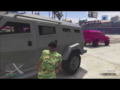 Gta 5 Funny Moments Rockets vs Insurgents, Neon's Wired Laugh, GETTING RAMMED OFF!