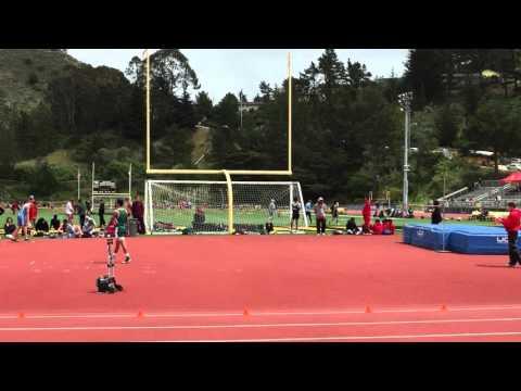 Eric Freshman High Jump