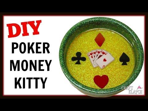 DIY Resin Poker Money Kitty or Wine Coaster ~ Craft Klatch How To