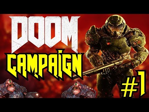 Doom   LET'S BEAT THIS GAME! - Single Player Campaign #1
