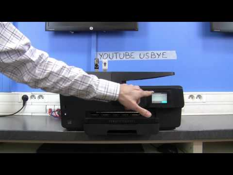 USB Killer versus the printer HP OfficeJet Pro 6830 - How to deal with printhead problems