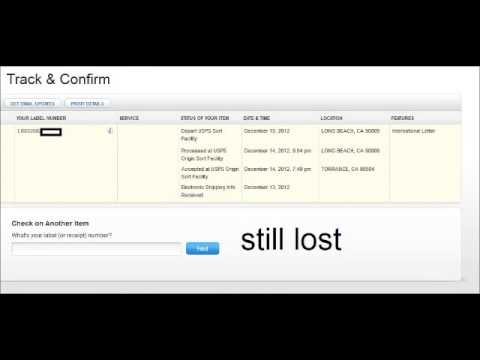 lost or stolen usps post office international package long beach sorting facility tracking