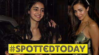 Spotted Today | Sussanne Khan, Malaika Arora, Ananya Pandey & More