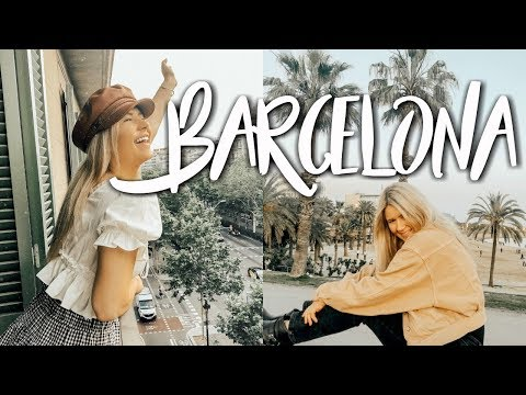 weekend in my life: barcelona