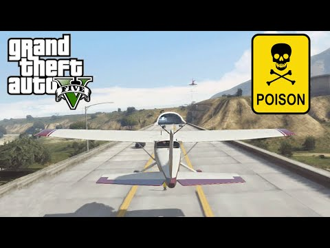 GTA 5 - ALMOST POISONED
