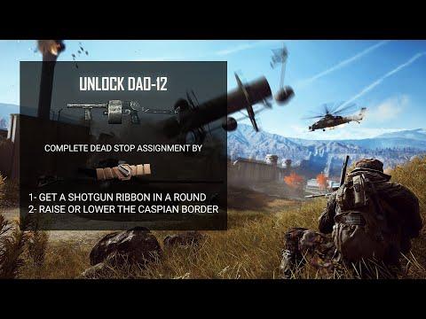Battlefield 4 Unlock DAO-12 Shotgun