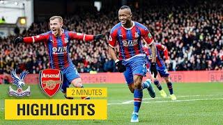 MATCH HIGHLIGHTS Crystal Palace 1 1 Arsenal