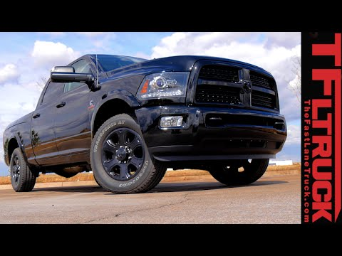 2015 Ram 2500 Cummins: Highway MPG Review