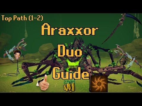 Araxxor Duo Guide (Melee, Top Path)