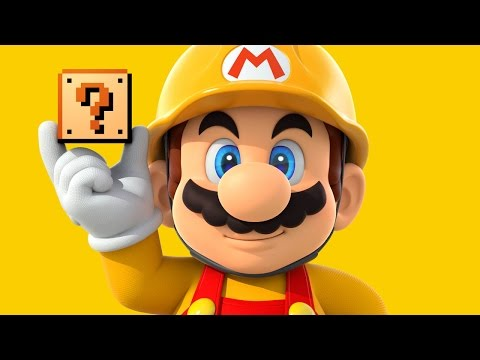 CGR Undertow - SUPER MARIO MAKER review for Nintendo Wii U