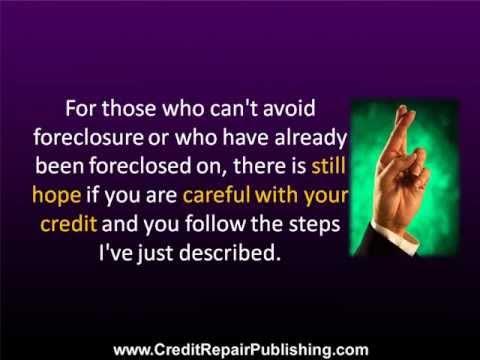 Rebuild Credit After Foreclosure...