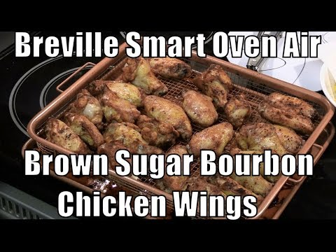 Breville Smart Oven Air - Chicken Wings Seasoned with McCormick Grill Mates Brown Sugar Bourbon