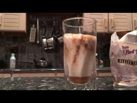 Drinking Apple Cider Vinegar with Baking Soda, Stevia and Cinnamon