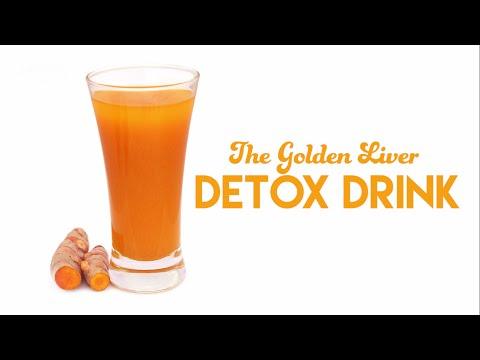 The Golden Liver Detox Drink