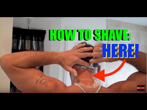 How To Shave The Back of Your Neck (No Mirror)